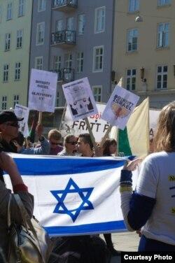 Протесты против политики Израиля. 1 мая 2014 года
