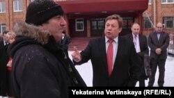 На снимке мэр Усть-Илимска Ташкинов