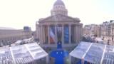 La ceremonia de la Paris la intrarea în Pantheon
