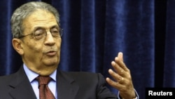 Secretary-General of the Arab League Amr Musa