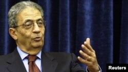 Генерален Секретар на Арапската Лига Амр Муса