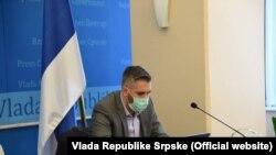Ministar za naučnotehnološki razvoj, visoko obrazovanje i informaciono društvo u Vladi RS Srđan Rajčević