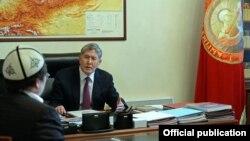 Президент 25-январда белгилүү теолог Кадыр Маликовду кабыл алды.