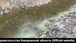 Загрязнение на реке Малый Кундат
