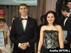 Гран-прия иясе Рәдиф Зарипов һәм дипломант Лилиана Ирназарова