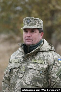 Ще полковником Юрій Мельник брав участь у битві під Іловайськом