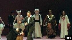 صحنهای از اپرای ایدومنئو در برلین