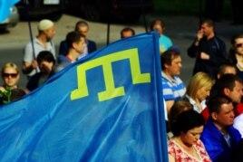 Акция в День памяти депортации крымских татар, Херсон, 18 мая 2015 года
