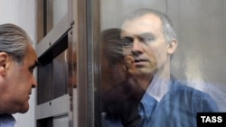 Dmitry Dovgy, a former top investigator, on trial in Moscow