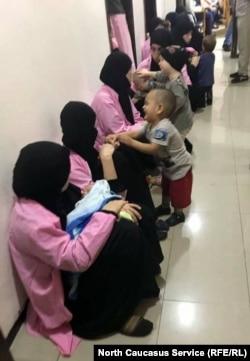 Во время суда над россиянками в Багдаде