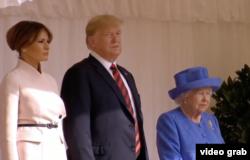 La primirea de către Regina Marii Britanii la Castelul Windsor