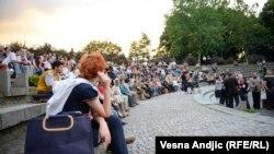 Publika na festivalu Krokodil