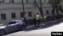 Yol polisi (arxiv fotosu).