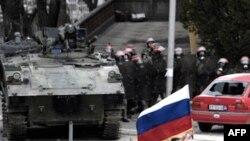 События в Митровице обернулись гибелью украинского миротворца Киналя