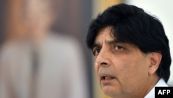 د پاکستان کورونو چارو وزیر چودري نثار