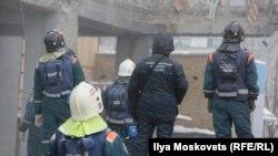 Последний день спасательной операции на месте обрушения подъезда жилого дома в Магнитогорске. 3 января 2019 года.
