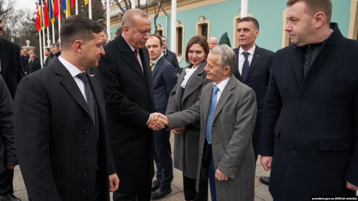 Джемилев с Эрдоганом говорил о платформу для переговоров с возвращения Крыма