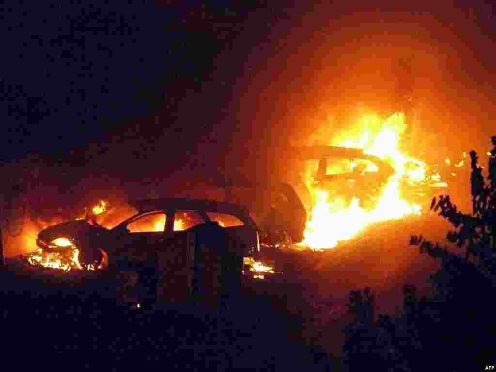10 человек погибли и 50 получили ранения в результате взрыва двух цистерн с газом на железной дороге в итальянском городе Виареджо