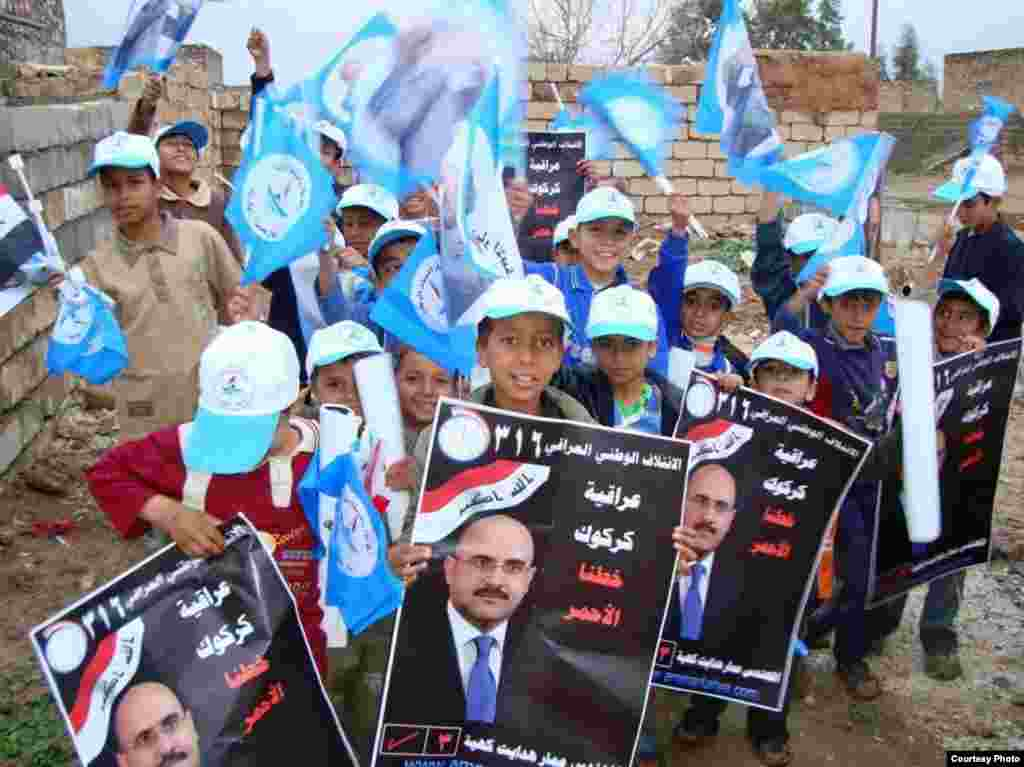 Many children have been actively participating in the election campaign.
