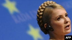 Jailed Ukrainian opposition leader Yulia Tymoshenko