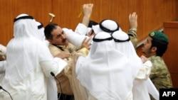 خلال احدى جلسات مجلس الامة الكويتي