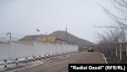 Здание СИЗО в городе Худжанд Согдийской области.