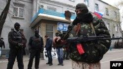 Проросійські сепаратисти у Слов'янську