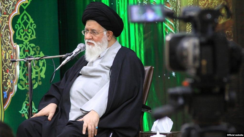 Iran -- Ahmad Alamolhoda, Iranian Imam and a Shia figure. He is the prayer of Jumu'ah in Mashhad