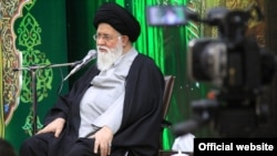 Ayatollah Ahmad Alamolhoda, a hardline pro-Khamenei cleric, the Friday prayer leader of Mashhad