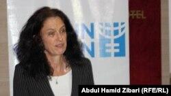 فرنسيز غاي ممثلة مكتب العراق لهيئة الامم المتحدة للمرأة