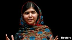 Pakistani schoolgirl and education activist Malala Yousafzai (file photo)