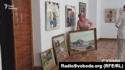 Частина експозиції Хмельницького обласного художнього музею