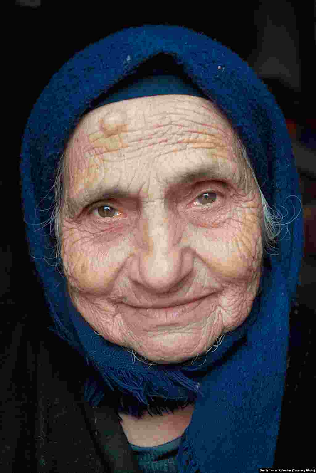 Although most inhabitants claim one ethnicity, some residents have a mixed background, like this woman, who is half Armenian and half Greek.