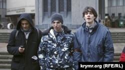 Архивное фото: события 27 февраля 2014 года, захват правительственных зданий в Симферополе