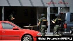Policijska akcija , arhivska snimka