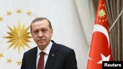 Türkiýäniň prezidenti Rejep Taýyp Erdogan