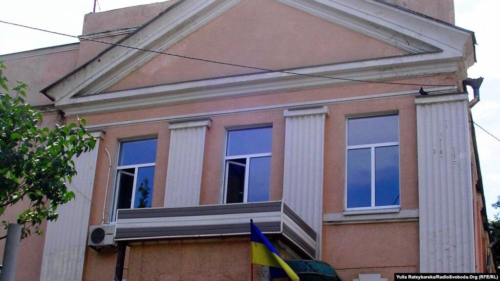 Будівля історичної мечеті у Дніпрі, там зараз спортивна школа
