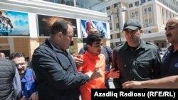 Protests after judge sentenced NIDA members to jail, 6 May 2014.
