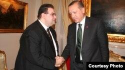 Թուրքիա - Ստամբուլի «Ժամանակ» թերթի խմբագիր Արա Գոչունյանի հանդիպումը Թուրքիայի վարչապետ Ռեջեփ Էրդողանի հետ, 9-ը նոյեմբերի, 2010թ․