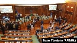 Заседание парламента Косова, 22 августа 2019 года