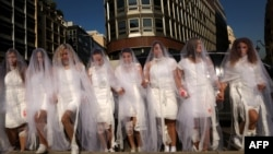 گروهی از فعالان حقوق زنان در لبنان