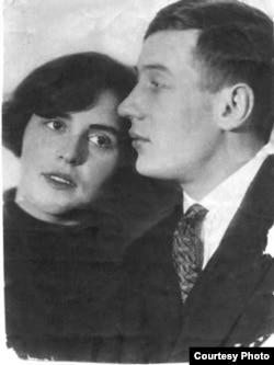 Борис Корнилов с Людмилой Борнштейн