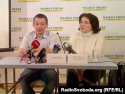 Сергій Якімов і Надія Адамчук