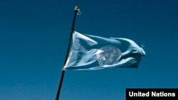 Флаг ООН.