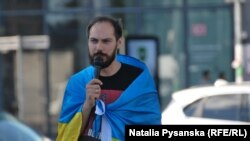 Організатор акції в Берліні Олександр Снідалов