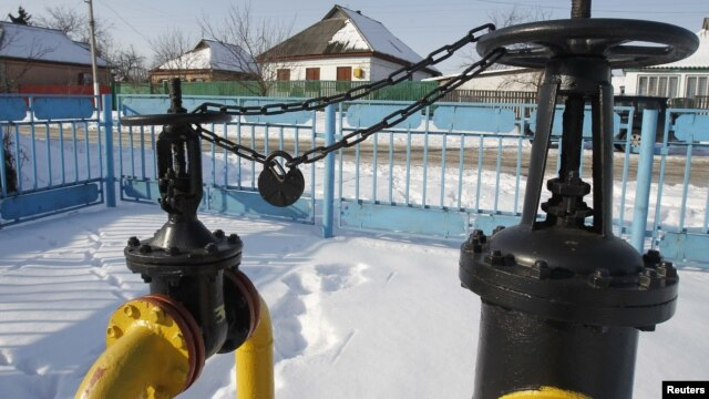 According to Ukraine, it is being penalized for not buying enough gas.