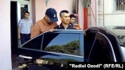 Арест Шухрата Кудратова, 21 июля 2014 года