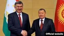 Тоқон Мамитов ва Муродалӣ Алимардон