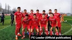 Члены футбольной команды «Академия-Лидер».