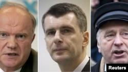 Михаил Прохоров в числе других кандидатов на пост президента РФ